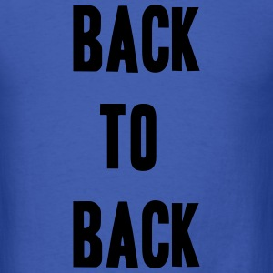 Back to back Long Sleeve Shirts - Men's T-Shirt