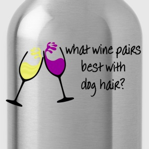 Wine and Dogs Women's T-Shirts - Water Bottle