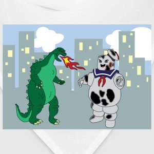 Godzilla VS Stay Puft Marshmallow Man  - Bandana