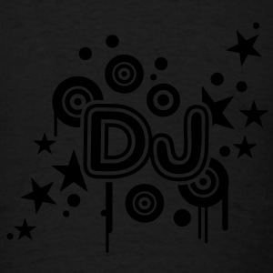 DJ (1c) black Tank Top - Men's T-Shirt