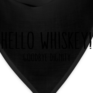 hello whiskey T-Shirts - Bandana