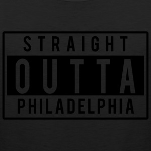 Straight Outta Philly T-Shirts - Men's Premium Tank