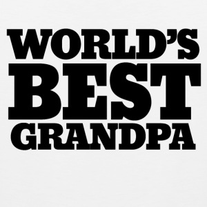 Worlds best Grandpa - Men's Premium Tank