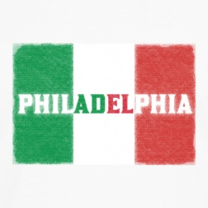 Philly Philadelphia Italian Flag Baby & Toddler Shirts - Men's Premium Long Sleeve T-Shirt