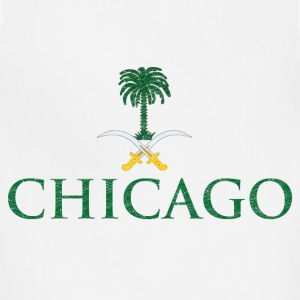 Chicago Saudi Arabia Flag Hoodies - Adjustable Apron