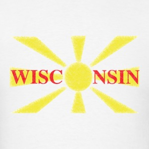 Wisconsin Macedonian Flag Hoodies - Men's T-Shirt