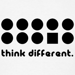 THINK DIFFERENT Tank Tops - Men's T-Shirt
