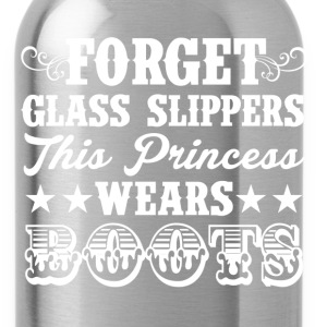 FORGET GLASS SLIPPERS, THIS PRINCESS WEARS BOOTS - Water Bottle