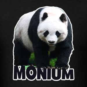 PANDA-MONIUM Men's 3XL 4XL Hoodie - Men's T-Shirt