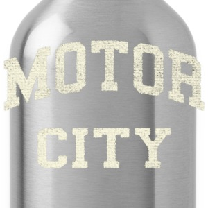 Classic Motor City Detroit Varsity Long Sleeve Shirts - Water Bottle