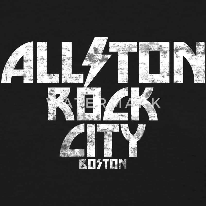 Allston Rock City Boston Women's T-Shirts - Women's T-Shirt