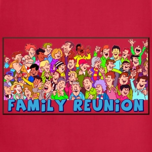 Family reuinion (add your name) - Adjustable Apron