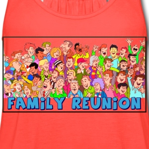 Family reuinion (add your name) - Women's Flowy Tank Top by Bella
