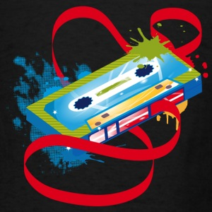 Music cassette graffiti Hoodies - Men's T-Shirt