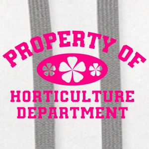 Property Of Horticulture Department - Contrast Hoodie
