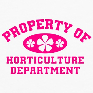 Property Of Horticulture Department - Men's Premium Long Sleeve T-Shirt