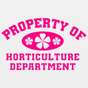Property Of Horticulture Department - Men's Premium Tank