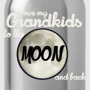 I love my Grandkids to the MOON and back - Water Bottle