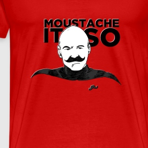 Moustache It So Tanks - Men's Premium T-Shirt