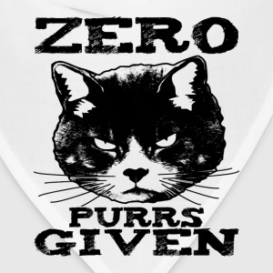 Zero Purrs Given Cat Women's T-Shirts - Bandana