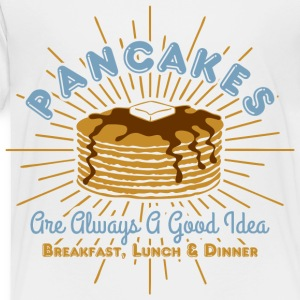 Pancakes Good Idea Kids' Shirts - Toddler Premium T-Shirt