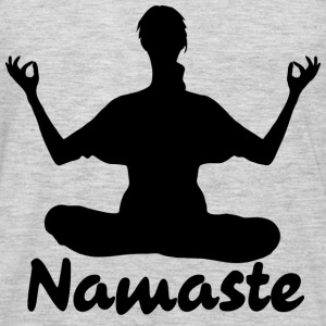 Namaste Yoga Meditation  - Men's Premium Long Sleeve T-Shirt