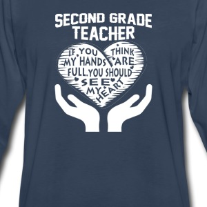 2nd Grade Teacher - Men's Premium Long Sleeve T-Shirt