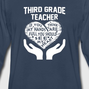 3rd Grade Teacher - Men's Premium Long Sleeve T-Shirt