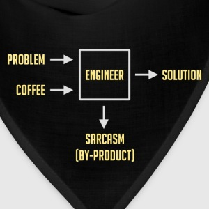 Engineering Sarcasm By-product T-Shirts - Bandana