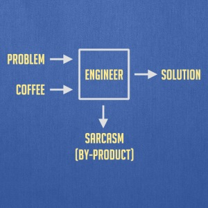 Engineering Sarcasm By-product T-Shirts - Tote Bag