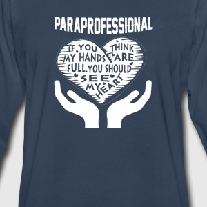 Paraprofessional - Men's Premium Long Sleeve T-Shirt