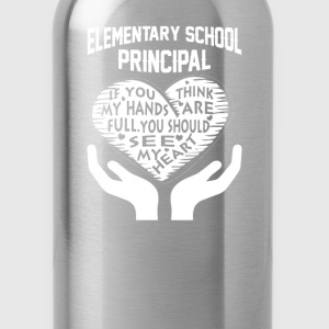 Elementary Principal - Water Bottle