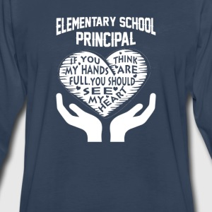 Elementary Principal - Men's Premium Long Sleeve T-Shirt