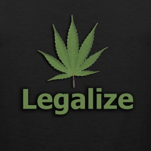 Legalize The Marijuana - Men's Premium Tank