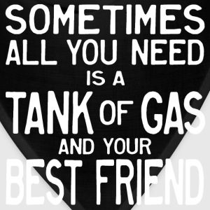 Tank of Gas and a Friend Women's T-Shirts - Bandana
