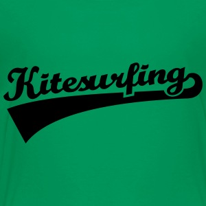 Kitesurfing Kids' Shirts - Toddler Premium T-Shirt