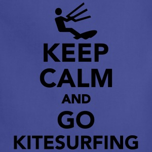 Keep calm and go Kitesurfing Kids' Shirts - Adjustable Apron