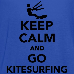 Keep calm and go Kitesurfing Kids' Shirts - Women's Flowy Tank Top by Bella