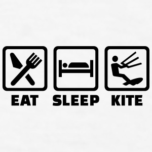 Eat Sleep Kite Mugs & Drinkware - Men's T-Shirt