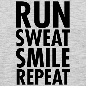 Run, Sweat, Smile, Repeat T-Shirts - Men's Premium Long Sleeve T-Shirt