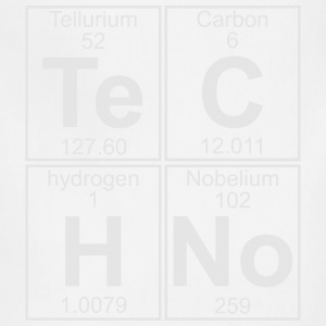 TECHNO PERIODIC TABLE T-Shirts - Adjustable Apron