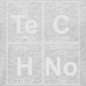 TECHNO PERIODIC TABLE T-Shirts - Men's Premium Long Sleeve T-Shirt