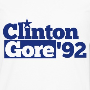 Clinton Gore Democrat 1992 - Men's Premium Long Sleeve T-Shirt