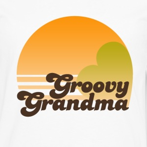 Groovy Grandma  - Men's Premium Long Sleeve T-Shirt