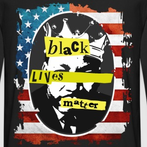 black lives matter - Men's Premium Long Sleeve T-Shirt