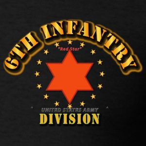 6th Infantry Division -  Red Star Hoodies - Men's T-Shirt