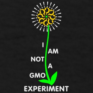 I am not a GMO experiment - mug - Men's T-Shirt