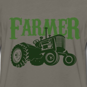 Farmer tractor  - Men's Premium Long Sleeve T-Shirt