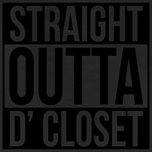 straight outta d closet T-Shirts - Leggings