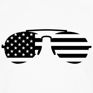 Sunglasses USA Tanks - Men's Premium Long Sleeve T-Shirt